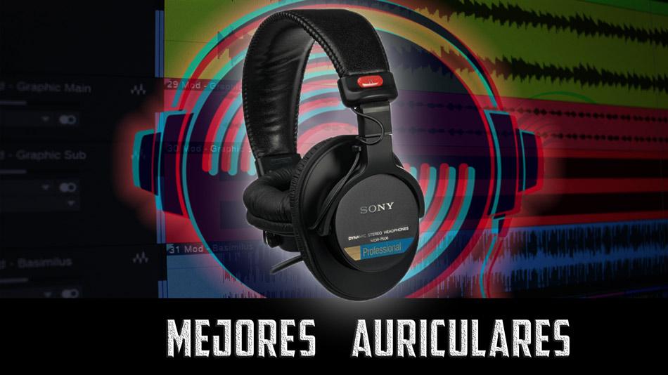 Mejores auriculares de estudio para mezcla