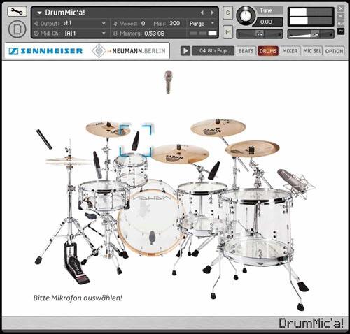 DrumMic'a