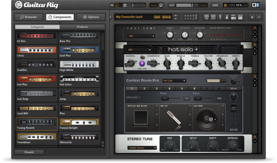 Guitar Rig 5 Player
