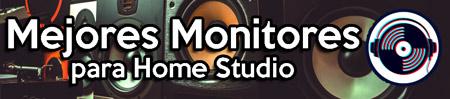 mejores monitores para home studio baratos