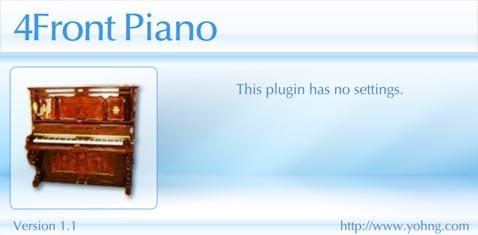 4Front Piano plugin