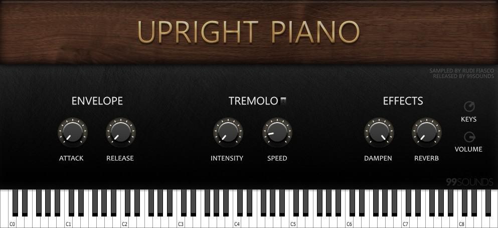Upright Piano plugin
